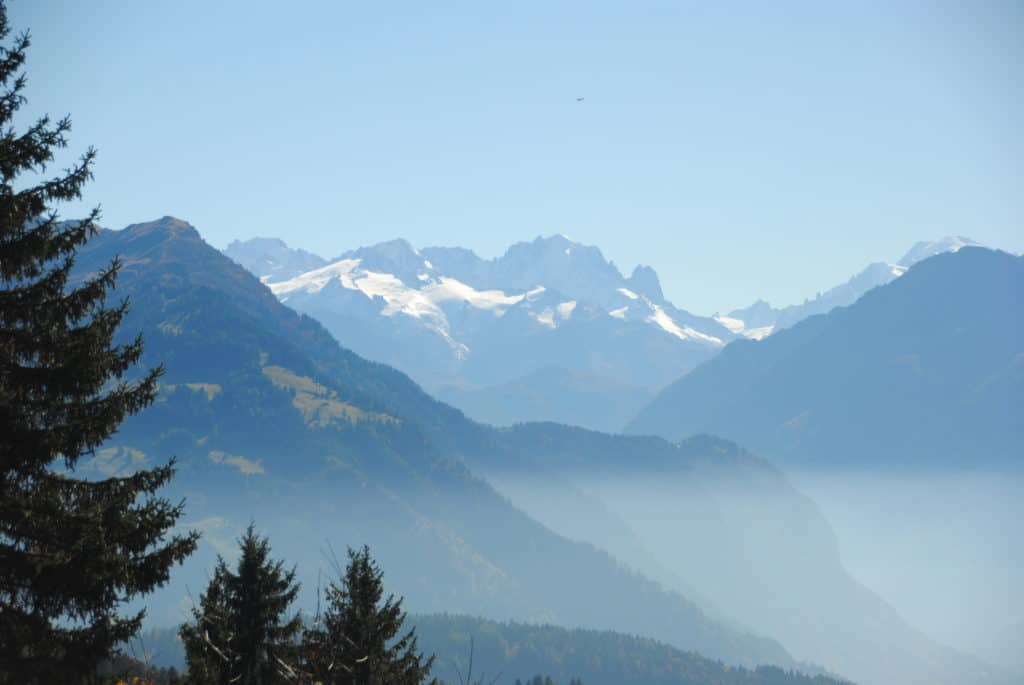 Villars Switzerland view