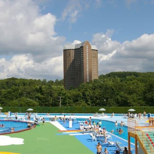 Rusutsu water park