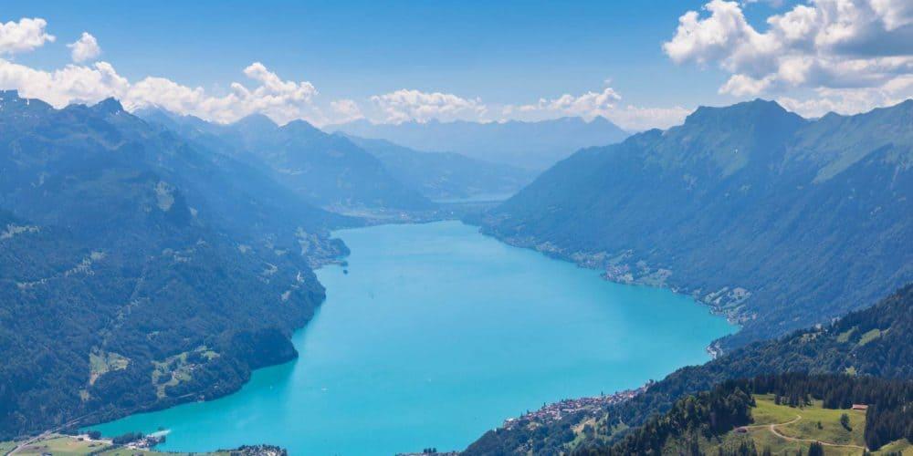 Luxury real estate in Switzerland Lake Brienz