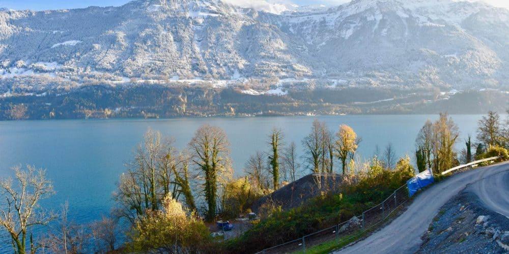 Luxury real estate in Switzerland Florens site Lake Brienz