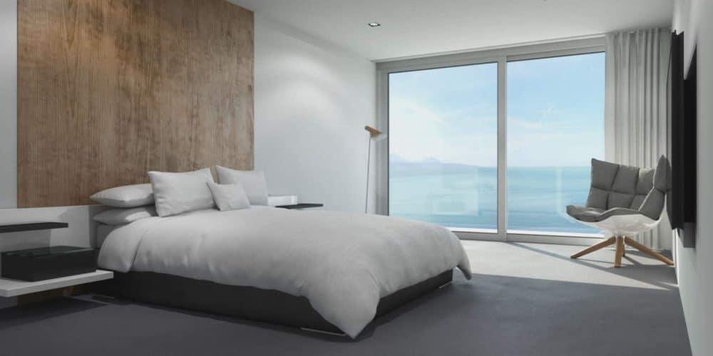 Luxury real estate Switzerland Les Terraces de Lavaux bedroom