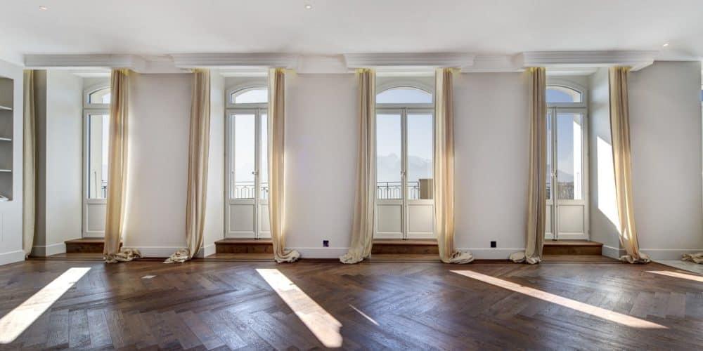 Luxury real estate in Switzerland Pelerin Palace apartment