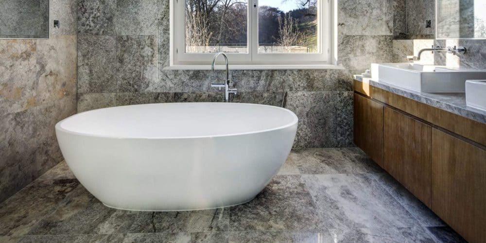 Luxury real estate in Switzerland Pelerin Palace bathroom