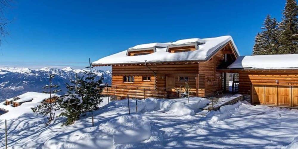 Luxury real estate in Switzerland Le Ruisseau exterior Villars-Gryon