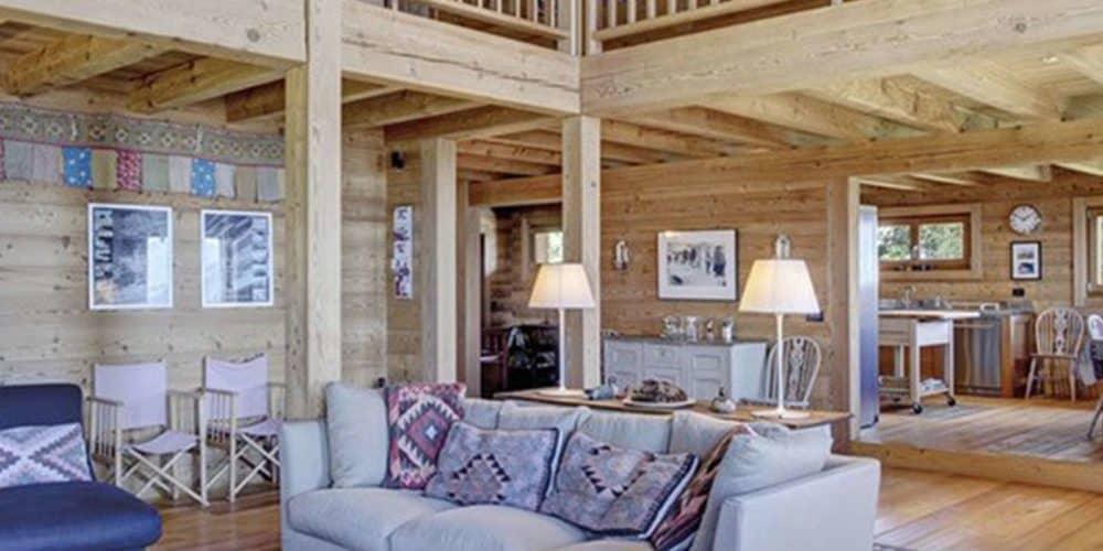Luxury real estate in Switzerland Le Ruisseau open plan Villars-Gryon
