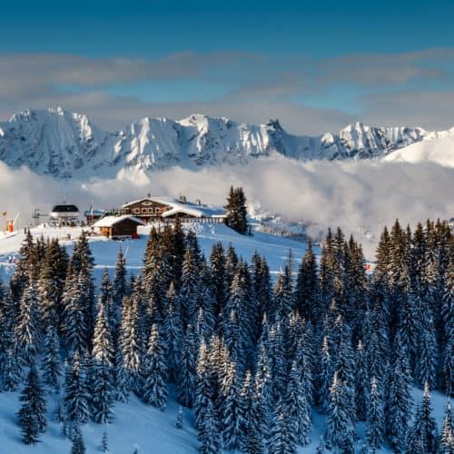 Megève skiing