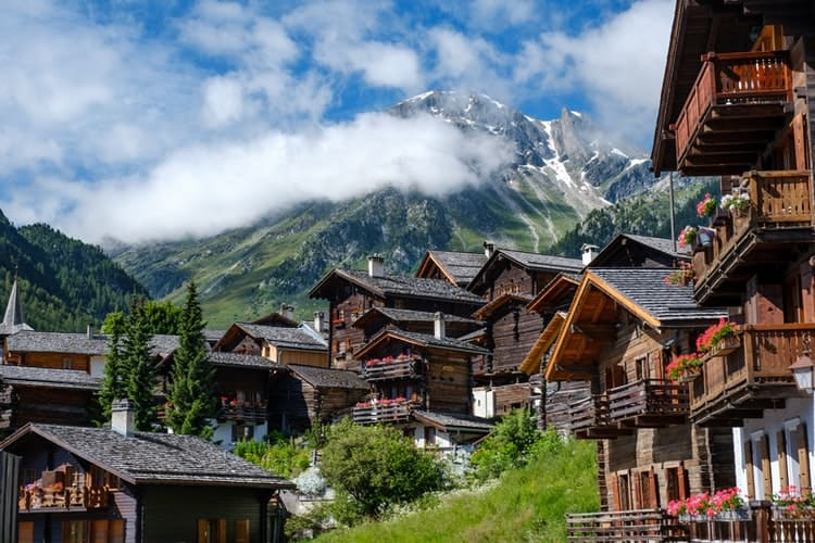 Grimentz village