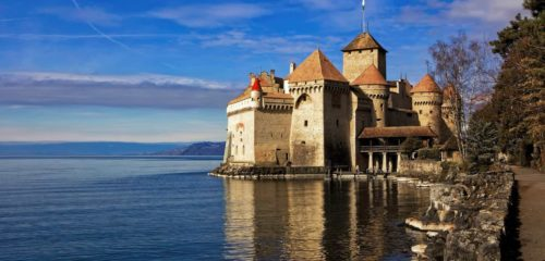 Hotels for sale in Switzerland 6 Chateau de Chillon