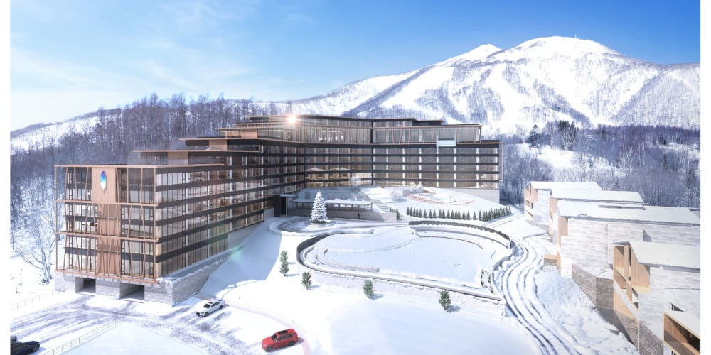 New World La Plume Niseko Resort winter